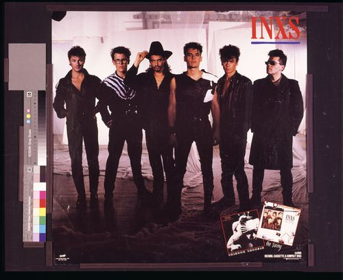 The INXS anthem Don't Change was included.