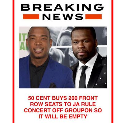 <strong>50 CENT VS JA RULE</strong>