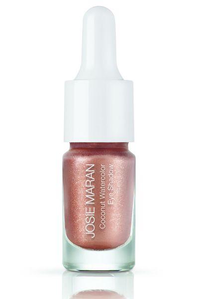"<a href=""http://mecca.com.au/josie-maran-cosmetics/coconut-watercolour-eye-shadow/V-019475.html#q=Josie+Maran+Cosmetics&start=1"" target=""_blank"">Coconut Watercolour Eye Shadow in Rio de Rose Gold, $25, JosieMaran Cosmetics</a>"