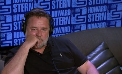 Russell Crowe on The Howard Stern Show