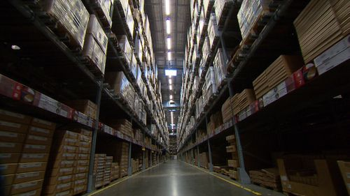 Customers can upload images of their second hand furniture, where it will be assessed by Ikea experts. Picture: 9News