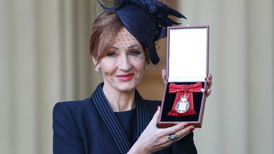 Harry Potter creator JK Rowling receives royal honour