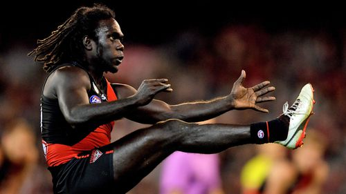 Anthony McDonald-Tipungwuti has opened up about adversity in his life to inspire kids to pursue an education. (AAP)