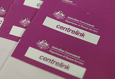 Centrelink forms (AAP)