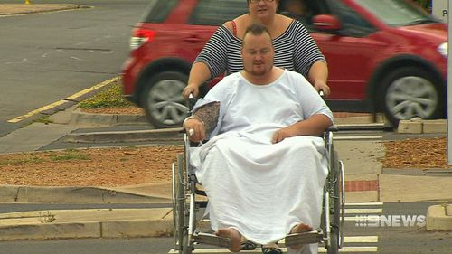 Mr Weaver told 9NEWS he's traumatised by how close he came to death.