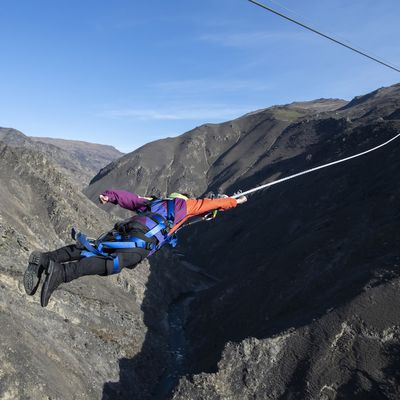 Be shot across a canyon in Queenstown