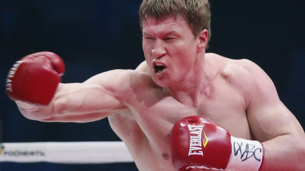 Alexander Potevkin has had his next fight cancelled. (AAP)