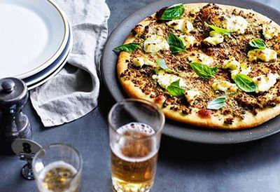 Pizza verde Ladro