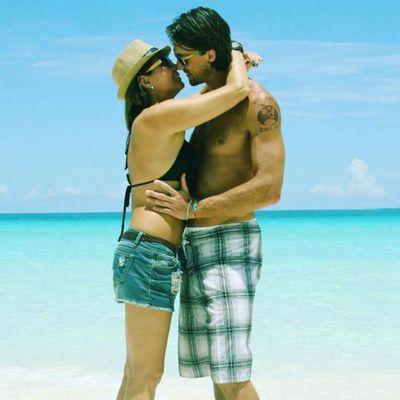 Tania Zaetta and Chris Rogers