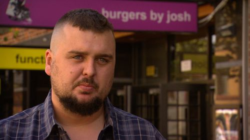 Josh from Burgers By Josh alleges poor delivery by Uber Eats drivers was hurting his business.