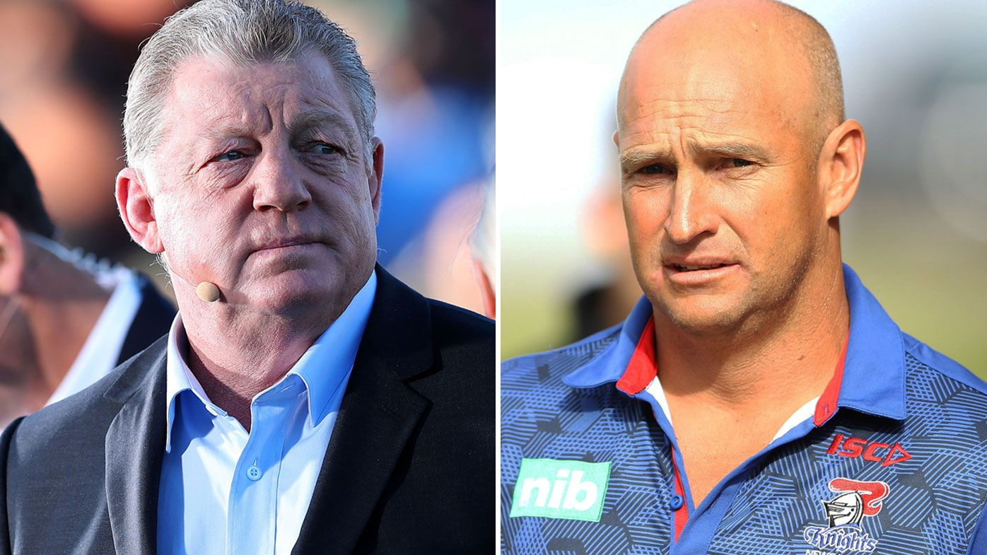 Phil Gould and Nathan Brown