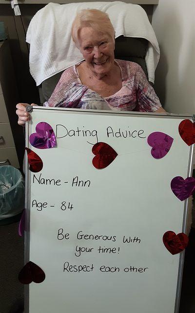 """Ann, 84: """"Respect each other"""""""