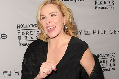 """<b>Kim Cattrall</b> has at least one thing in common with her <i>Sex and the City</i> character, Samantha. The 55-year-old has some naughty secrets when it comes to dealing with long flights. """"Stay up as long as you can and have as much fun as you can, if you know what I mean, and then go to sleep,"""" she once said. In-flight entertainment, anyone?"""