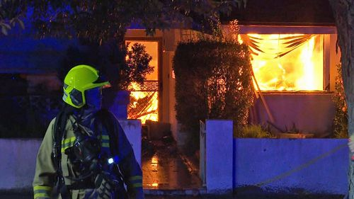 A man is feared dead after a fire consumed his Sydney home.