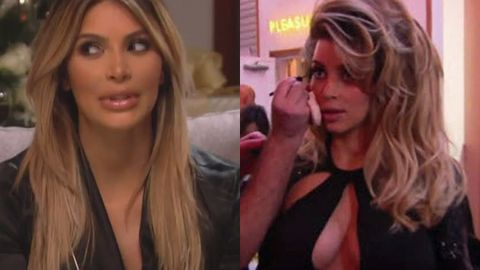 Kardashian Christmas special sneak peek: Pouty Kim, surprise Bruce Jenner and no Kanye or Lamar!