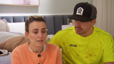Kirsty and Jesse reflect on her grandmother on The Block 2021