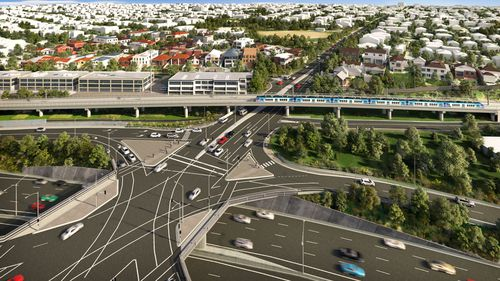 Toorak Road horror section to receive skyrail