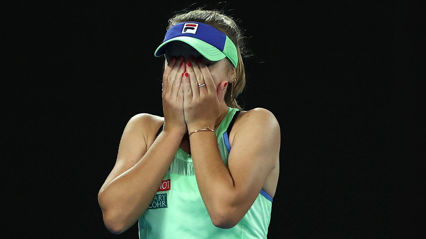 'We've been in a rough patch': How adversity drove Sofia Kenin to the top of world tennis