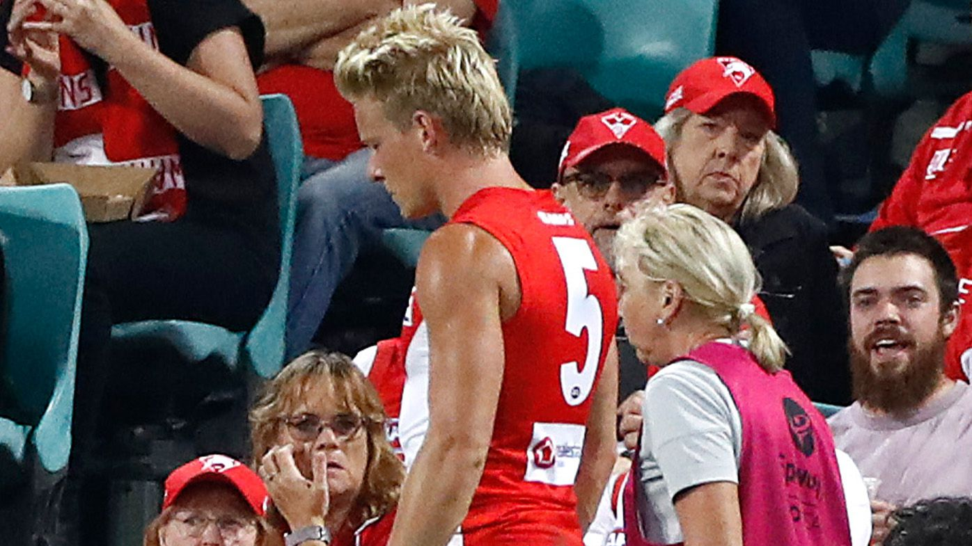'It's terrible luck': More rotten injury news for Isaac Heeney mars Sydney Swans victory