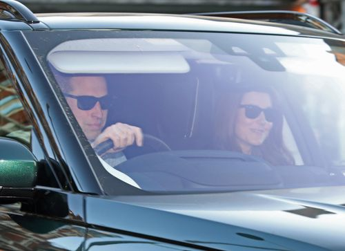 The Duke and Duchess of Cambridge arrive at Kensington Palace in London the day after attending the wedding of the Duke and Duchess of Sussex. Picture: Getty