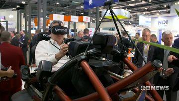 Aussie ingenuity on show at international warfare technology fair