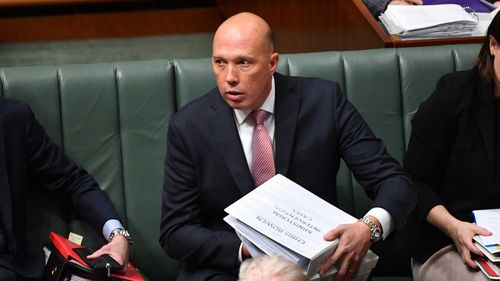 The Greens have renewed calls for Peter Dutton to resign.