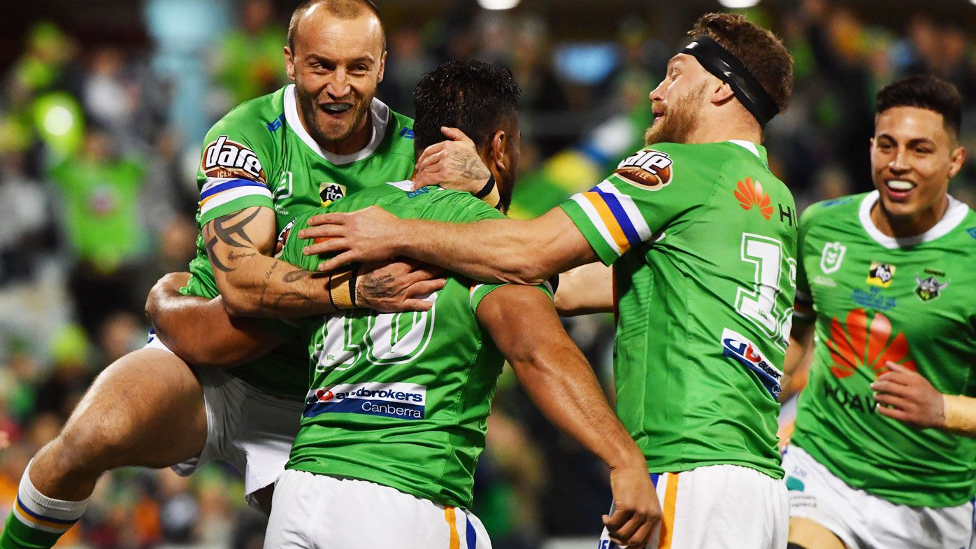 Raiders see off the Tigers in Canberra