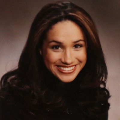 Meghan Markle as a college student, 2000-2001