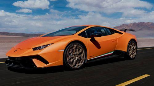 A Lamborghini Huracan. (Photo: Lamborghini).