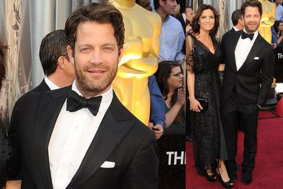 <i>Nate Berkus Show</i> host, former <i>Oprah</i> regular and Executive Producer of <i>The Help</i> shows how to do scruffy with style! We're loving the five o'clock shadow and the 'hello I'm here' white pocket square.