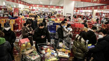 Wuhan was the first city where panic buying first took place in relation to coronavirus.