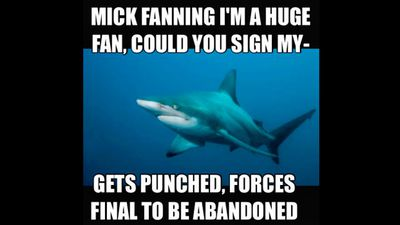 No one is considering this from the shark's perspective.