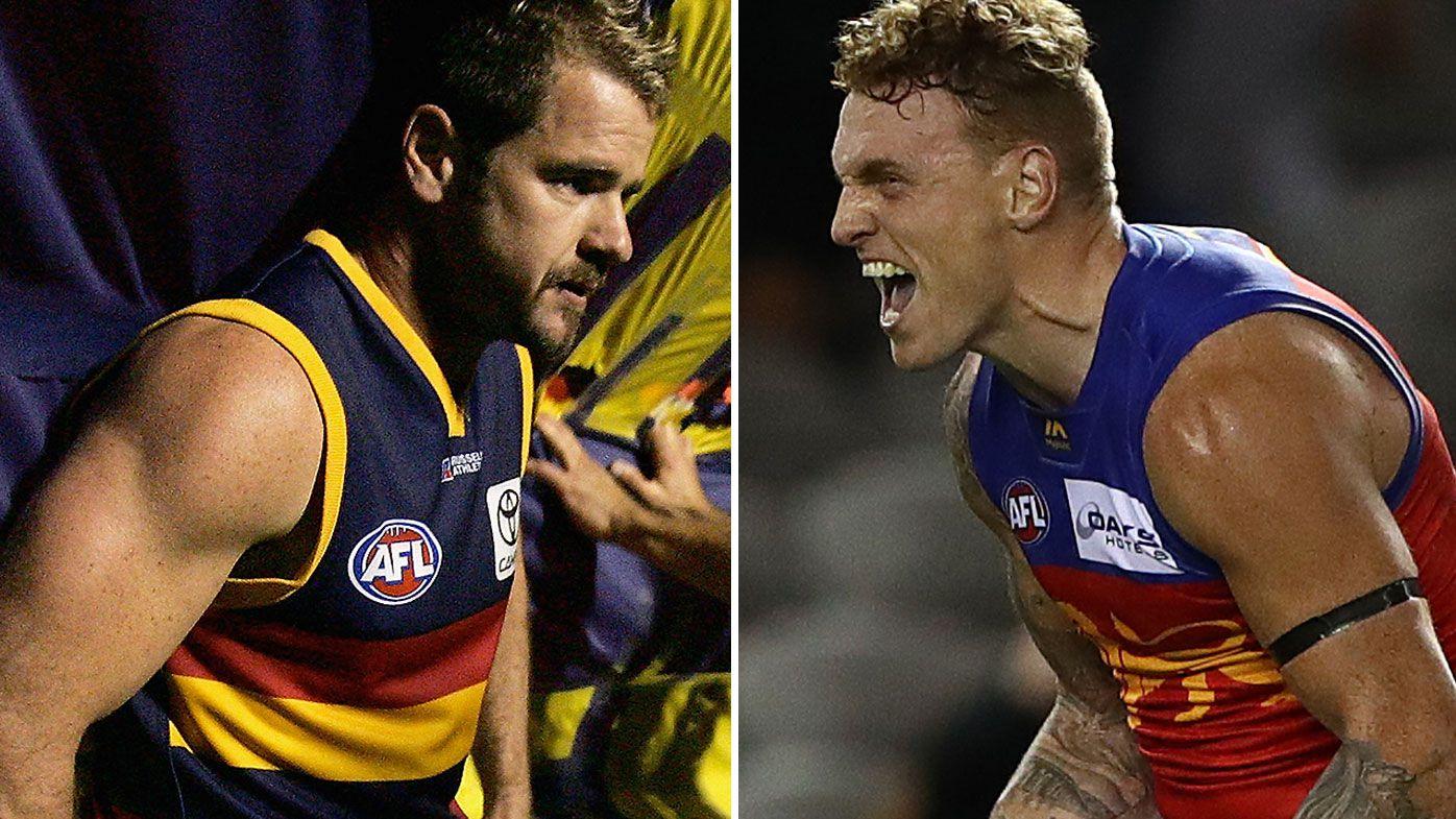 Brisbane Lions hard man Mitch Robinson backtracks claim he'd put Crows great Mark Ricciuto 'on his a--'