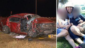 News SA Barmera Sturt Highway truck crash fatal mother memorial
