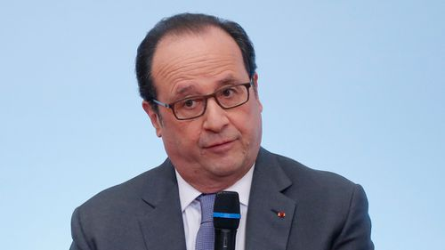 US climate commitment 'irreversible', Hollande warns Trump