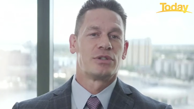 John Cena opens up about his new film to Today's Brooke Boney.