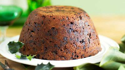 """Click through for our&nbsp;<a href=""""http://kitchen.nine.com.au/2016/05/16/19/33/classic-steamed-christmas-pudding"""" target=""""_top"""">Classic steamed Christmas pudding</a>&nbsp;recipe"""
