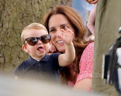 Modelling mum's sunglasses