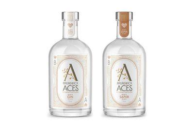 Brunswick Aces Hearts Gin and Sapiir, $74.95/$49.95
