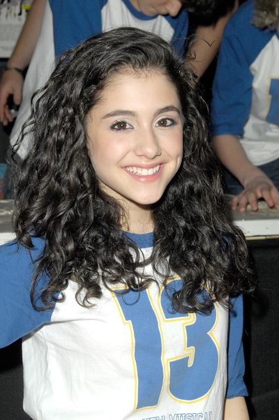 Ariana Grande at Planet Hollywood Times Square, October 2008