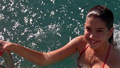 <b>Then:</b> Phoebe will forever be remembered for <i>that</i> scene in <i>Fast Times At Ridgemont High</i> - still topping polls as the hottest bikini scene in film history!<br/>