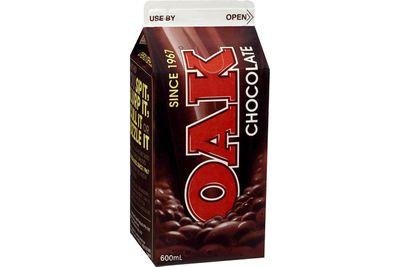 Oak chocolate milk (600ml)