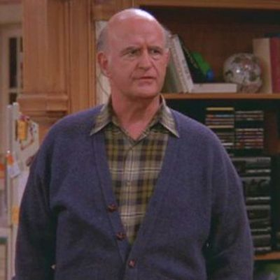 "Peter Boyle as Francis ""Frank"" Barone: Then"