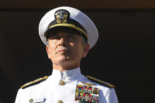 Admiral Harris has served as head of the Pacific Command and had deep political and military ties to Australia.