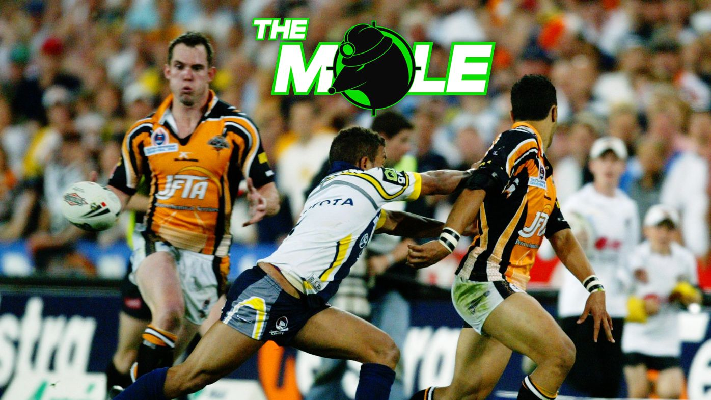 Benji Marshall's iconic flick pass to Pat Richards in the 2005 NRL grand final.