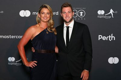 <strong>UNITED STATES: Coco Vandeweghe and Jack Sock. (Getty)</strong>