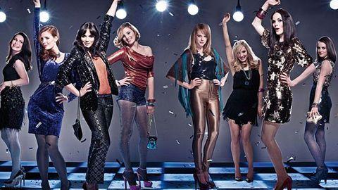 Downton Abbey girls go disco in tacky photo shoot