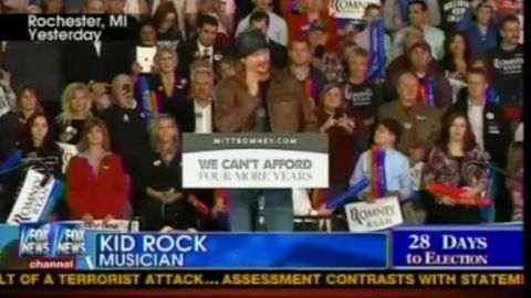 Kid Rock apologises for President Obama 'doing a poor job'