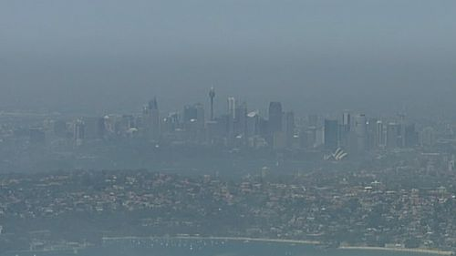 Rare sea fog envelops Sydney