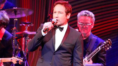 David Duchovny is a singer now and is set to tour Australia